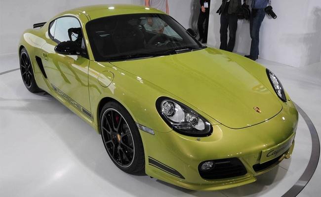 L.A. Auto Show - 2010: Porsche Cayman R