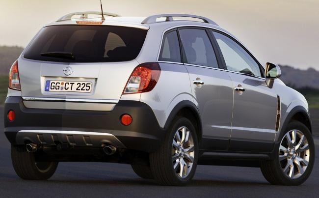 Продажи нового Opel Antara в России стартуют летом
