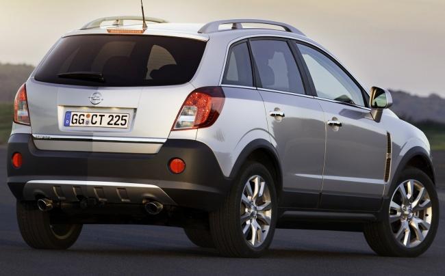 Российские продажи обновленного Opel Antara стартуют в декабре
