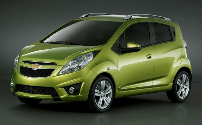 Российская премьера Chevrolet Spark состоится в Москве