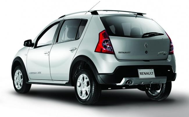 Объявлены российские цены на Renault Sandero Stepway