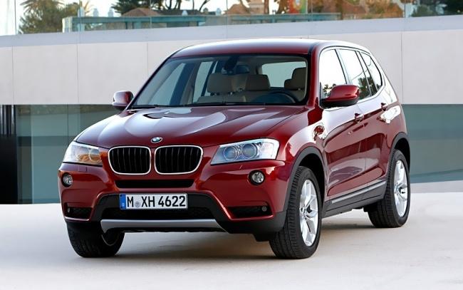 Второе поколение BMW X3 появится в России в ноябре 2010 года