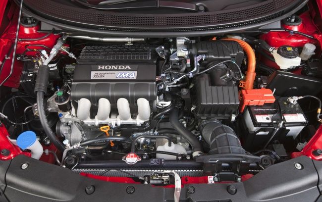 2011 CR-Z Type-R двигатель