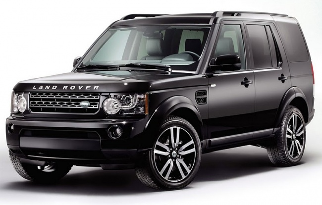 Объявлены цены на Land Rover Discovery 4 Black & White Limited Editions