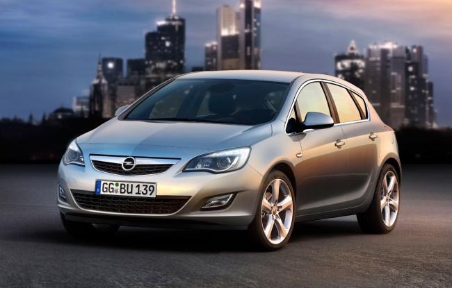Новое поколение Opel Astra в Росии
