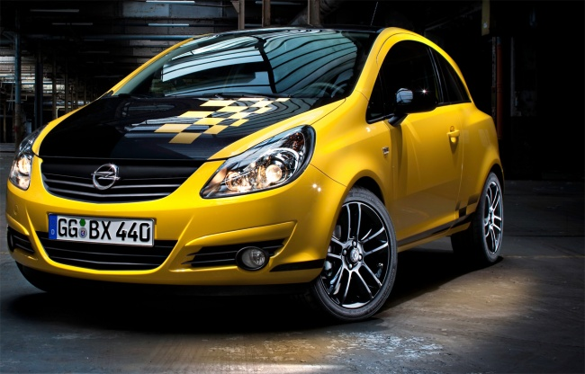 Opel Corsa color race edition 2010
