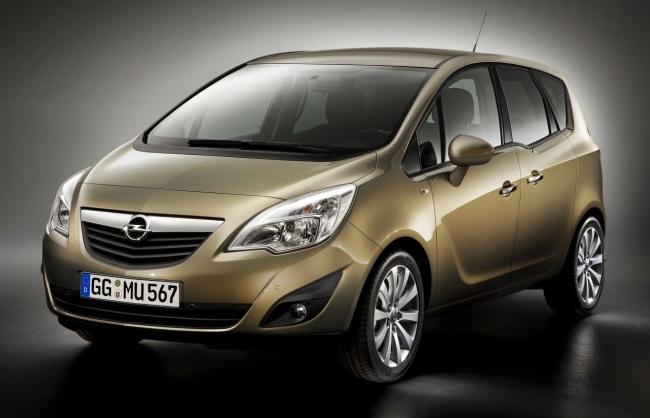 В Москве покажут второе поколение Opel Meriva