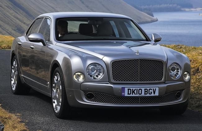 Bentley Mulsanne привезут на Московский автосалон