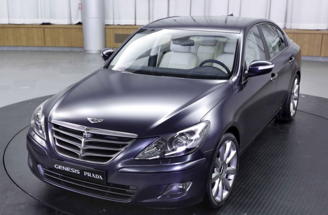 Стартовали продажи Hyundai Genesis Prada