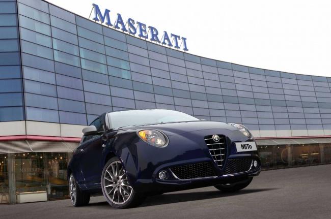 Maserati Alfa Romeo Mito Courtesy car
