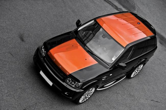 2010 range rover sport vesuvius edition project kahn
