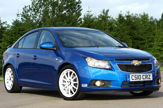 2011 chevrolet cruze cs package