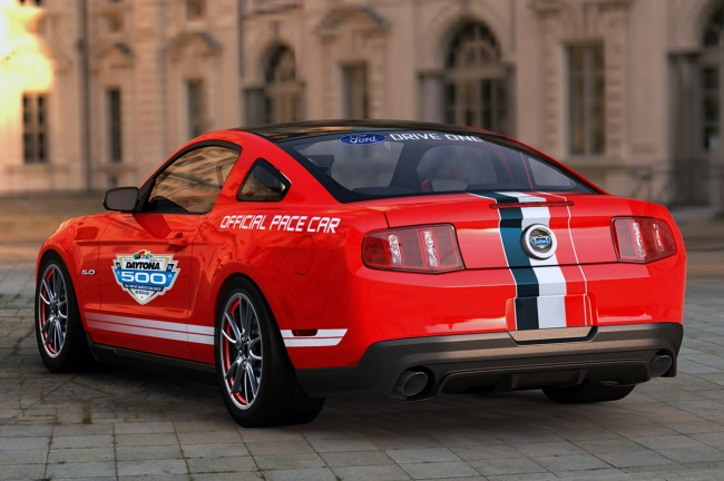 Ford Mustang GT Daytona 500 пейс-кар 2011