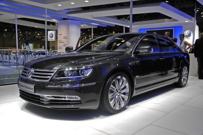 ММАС-2010: Европейский дебют Volkswagen Phaeton New
