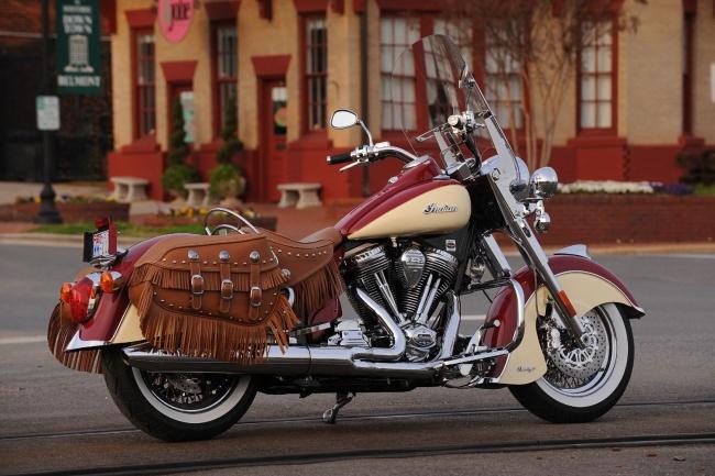 """Мотоциклы Indian Motorcycle """"приехали"""" в Россию"""