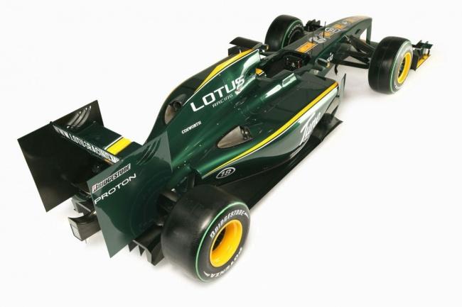 Новый болид F1 Lotus T127 на сезон 2010