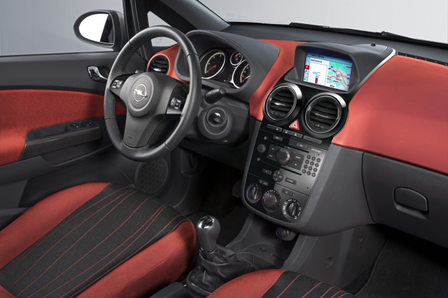 Opel Corsa 2010 interior