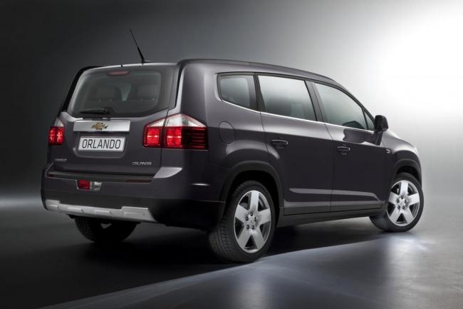 2012 Chevrolet Orlando MPV
