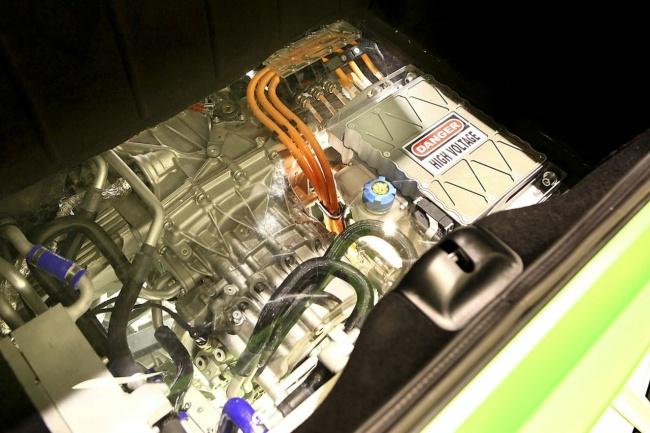 Силовая установка гибрида HY-KERS от Ferrari