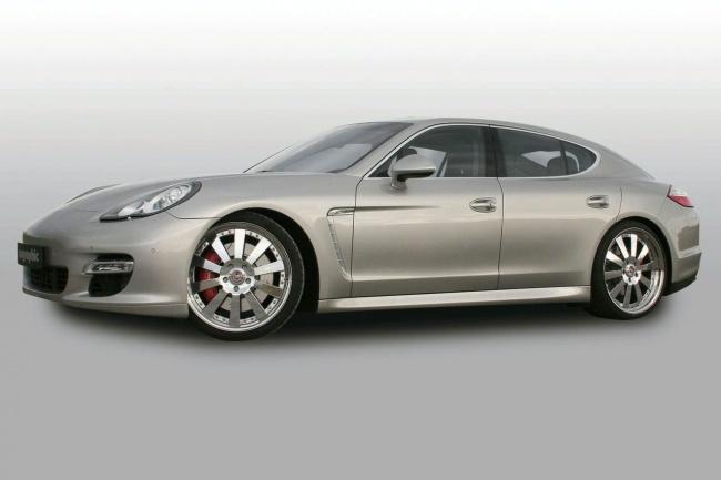Porsche Panamera Turbo от Cargraphic