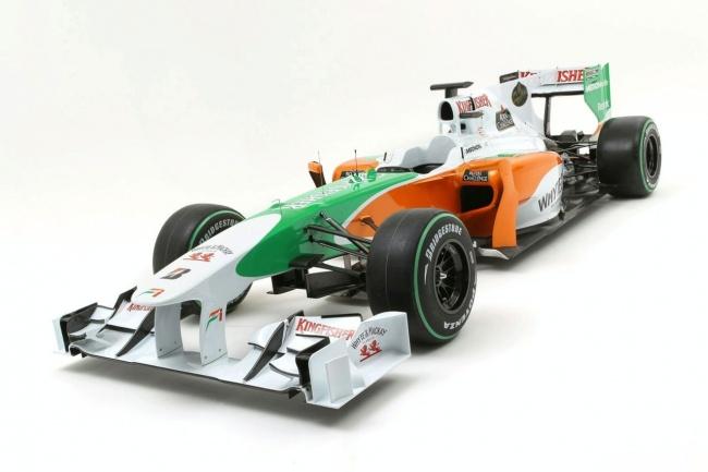 Болид F1 от Force India на сезон 2010