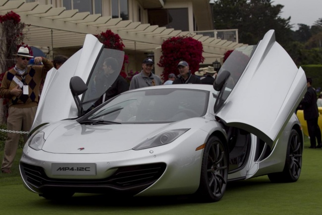 McLaren MP4-12C, Pebble Beach Concours d'Elegance, Monterey, California