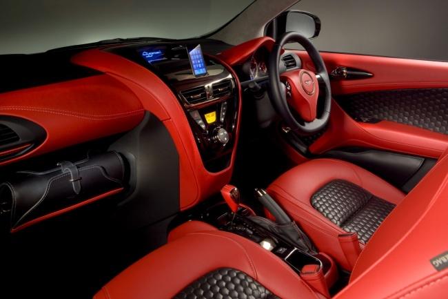 Aston Martin Cygnet Concept салон