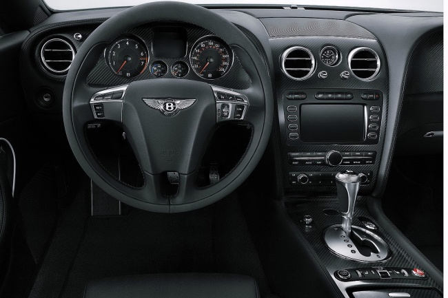 Bentley Continental Supersports cabrio interior