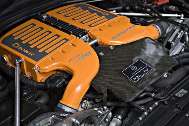G-Power сделала 800-сильный  BMW M6 Hurricane RR
