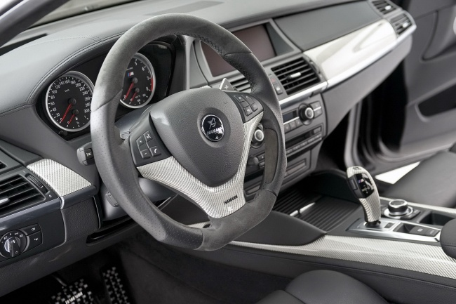 Интерьер BMW X6 Tycoon EVO M от Hamann