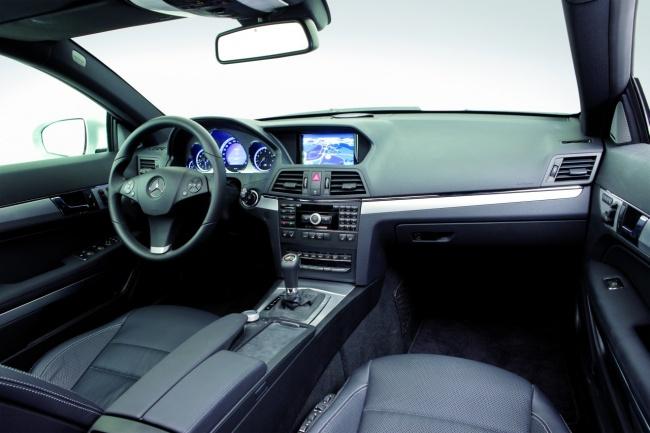 Салон Mercedes-benz E-class coupe от Lorinser