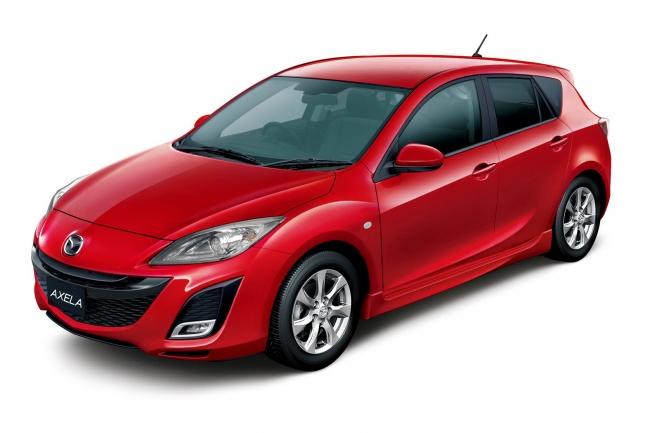 Юбилейный выпуск Mazda3 (Axela)