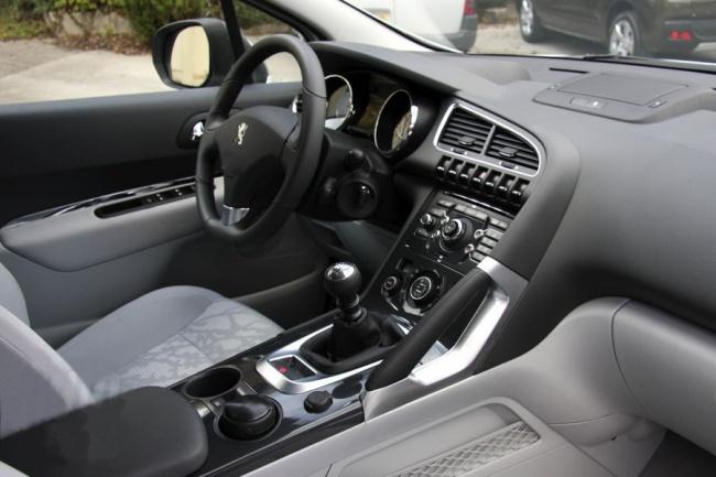 Peugeot 3008 drivers seat