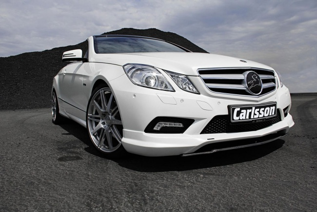 carlsson 2010 mercedes-benz e-class cabrio