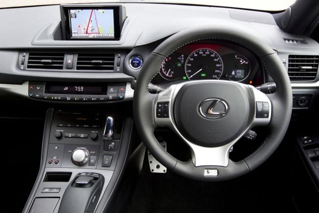 Мировая премьера Lexus CT200h F Sport состоялась в Сиднее