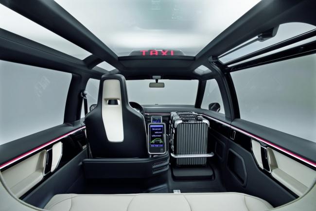 volkswagen milano taxi concept салон
