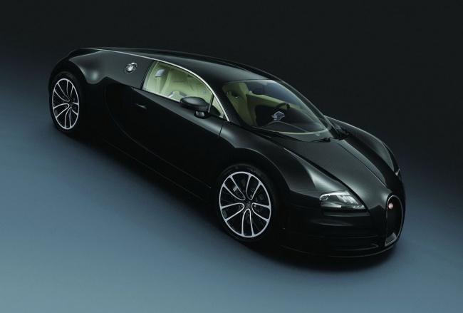 Bugatti привез два новых Veyron в Китай