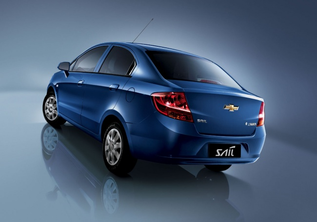 Chevrolet new sail 2010