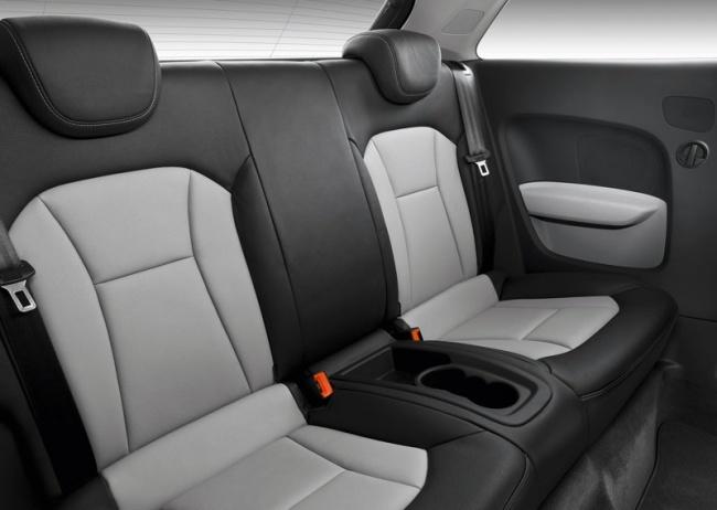 Задний ряд сидений Audi A1