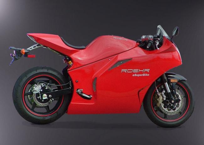 Электромотоциклы eRoehr поступили в продажу