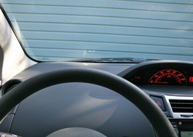 yaris Drivers View