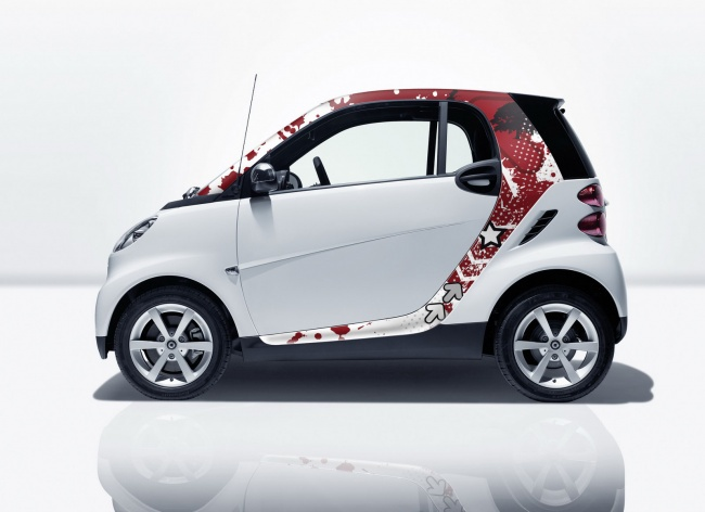 Smart fortwo accessories
