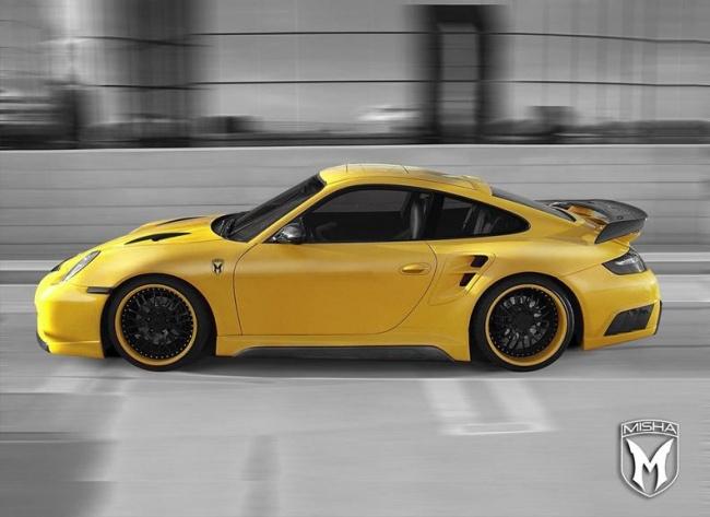 Porsche 911 Turbo body kit от Misha Design