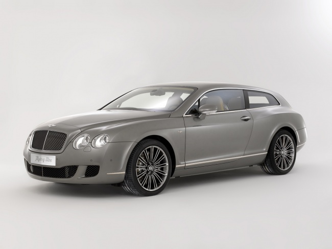 touring leggera bentley continental flying star