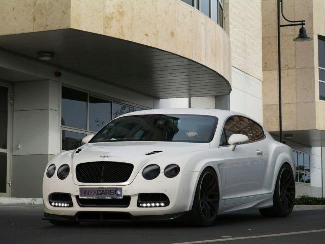 Onyx Continental Platinum GTO на базе Bentley Continental GT от Onyx Concept