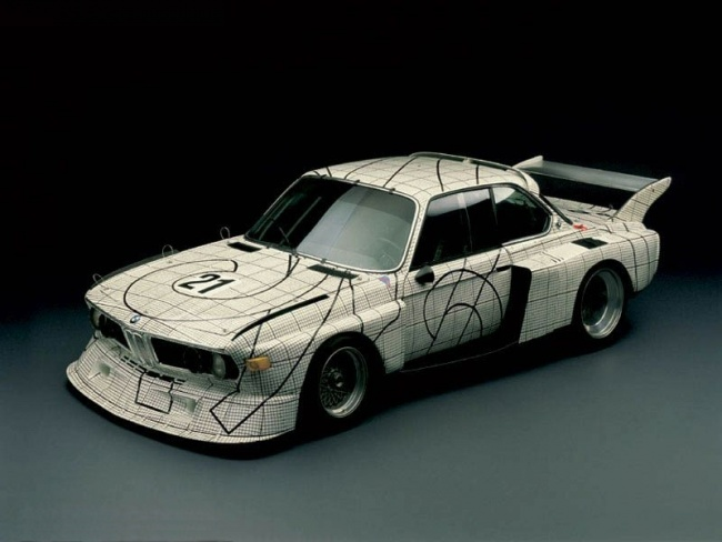 Art Car 1976 - BMW 3.0 CSL от Frank Stella