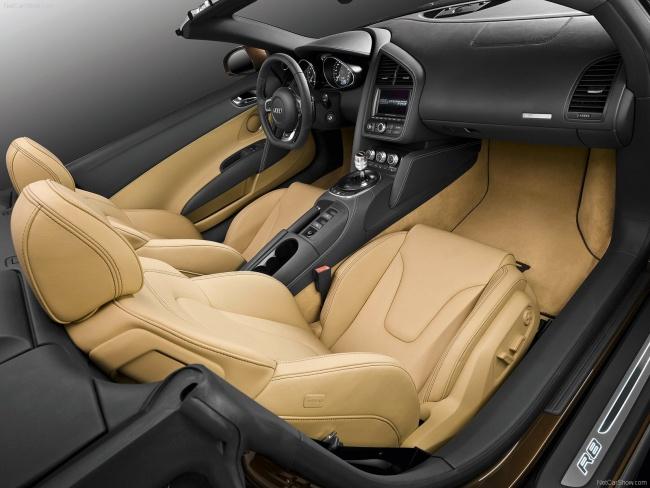 Объявлены российские цены на Audi R8 Spyder 5.2 FSI QUATTRO