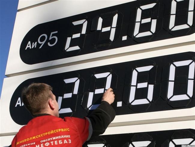 Стоимость  бензина уже достигла рекордного максимума