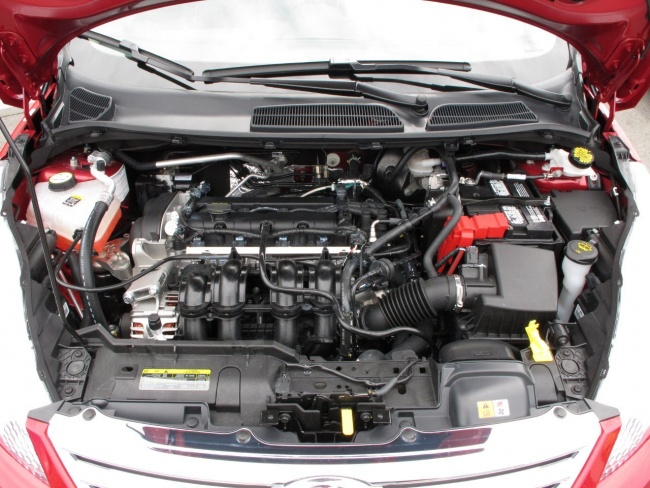 fiesta engine