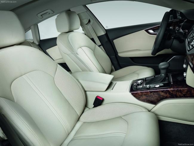 Передние кресла Audi A7 Sportback